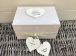Shabby Personalised Chic In Memory Of A BROTHER Loved One Keepsake Box ANY NAME